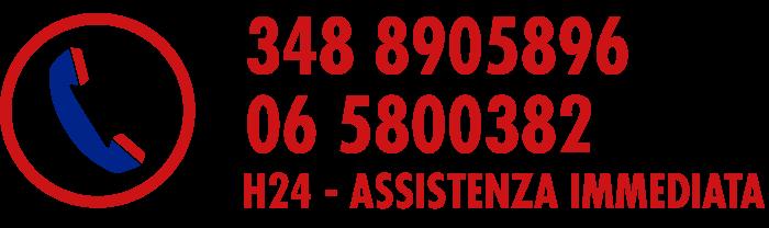 contattaci allo 06 5800382